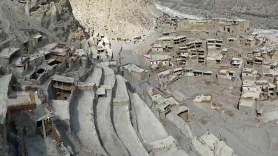 Suljettujen alueiden kylät ovat säilyneet alkuperäisinä.