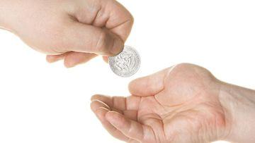 Lahjoitatko rahaa hyväntekeväisyyteen?