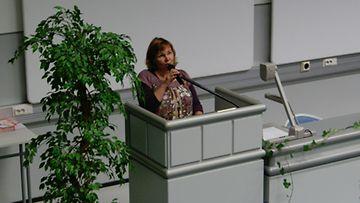 Anitta Ojanen toimii nykyisin Kanta-Hämeen Meniere-yhdistyksen puheenjohtajana ja vertaistukihenkilönä muille Meniereä sairastaville.