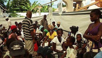 Haitin tilanne on yhä vaikea.