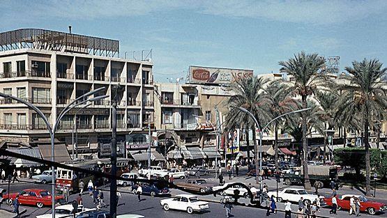 Katunäkymää Beirutista vuonna 1964