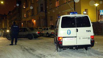 Poliisin arvion mukaan kotikäyntejä on jouluna suhteessa enemmän kuin arkiviikonloppuina.
