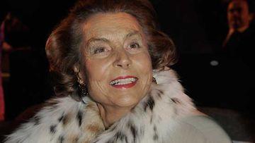 Kosmetiikkajätti L'Orealin perijätär Liliane Bettencourt on tällä hetkellä maailman toiseksi rikkain nainen.