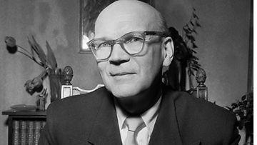 Urho Kaleva Kekkonen vuonna 1956, juuri valtaan valittu presidentti.