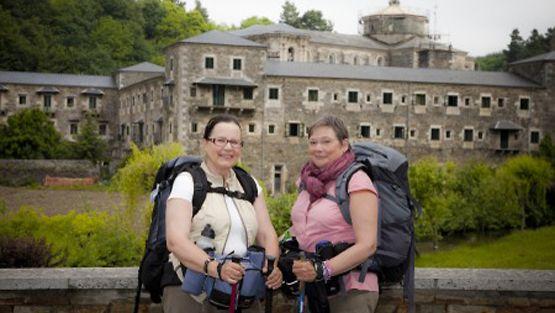 Pirkko ja Liisa toteuttivat unelmansa ja vaelsivat Santiago de Compostelaan.