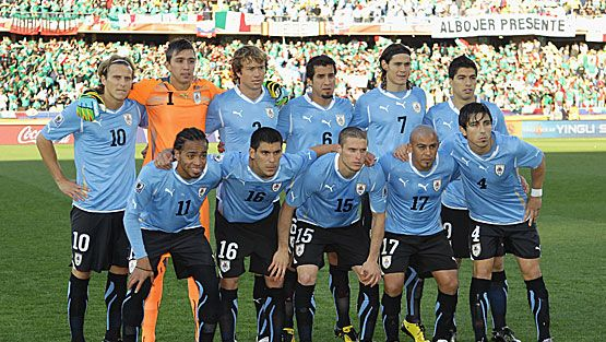 Uruguay Jalkapallo