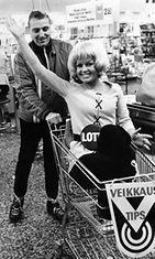 Lottohuumaa vuonna 1973.