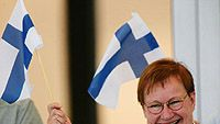 Tarja Halonen, kuva: Ezra Shaw/Getty Images