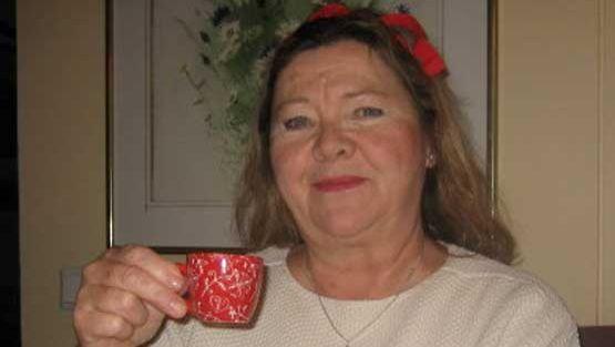 Maria Tainio kiittää nykyisestä terveydentilastaan Antti Heikkilää.