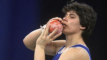 Heidi Krieger vuonna 1986, kuva: Getty Images