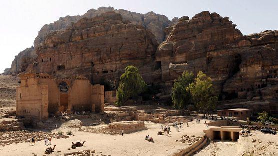 Petran kaupunki Jordaniassa