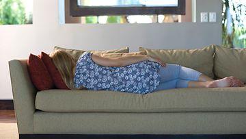 Sohvalla makoilu ei käy kuntoilusta.