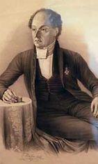 Kivipiirros Runebergista C. Hahn Johan Knutsonin maalauksen mukaan.